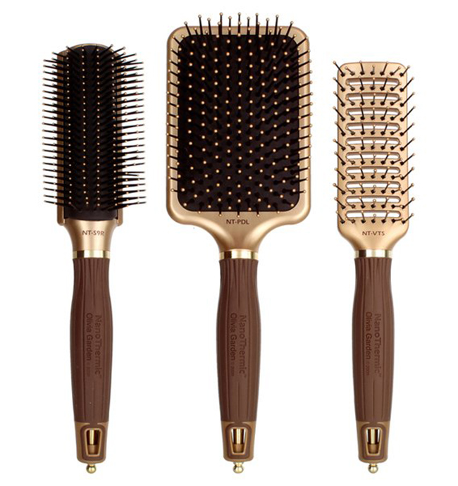 Olivia Garden brushes pro tools for hair salons