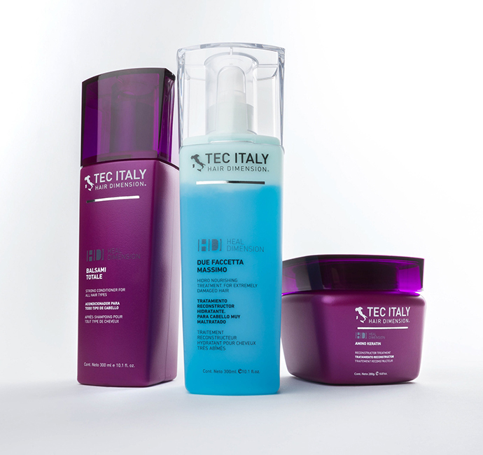 Quality Hair Salon Products Tec Italy Due Faccetta Massimo