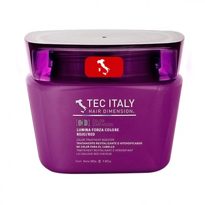 Tec Italy Lumina Forza Colore Rojo/Red 9.87 oz