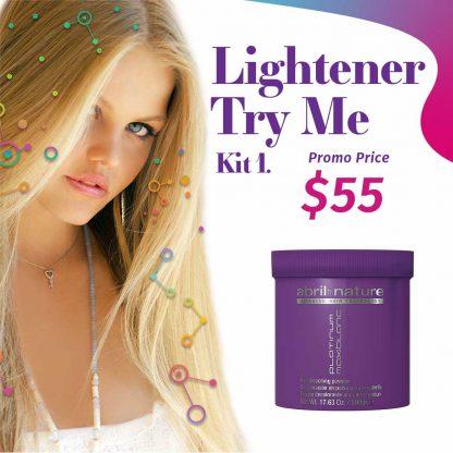 abril et nature Lightener Try Me Kit